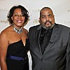 Carrie Mae Weems, Honoree for Achievement in Fine Arts, & Dawoud Bey 2011 Lucie Honoree  015 Lucie_Step& Repeat IMG_2681